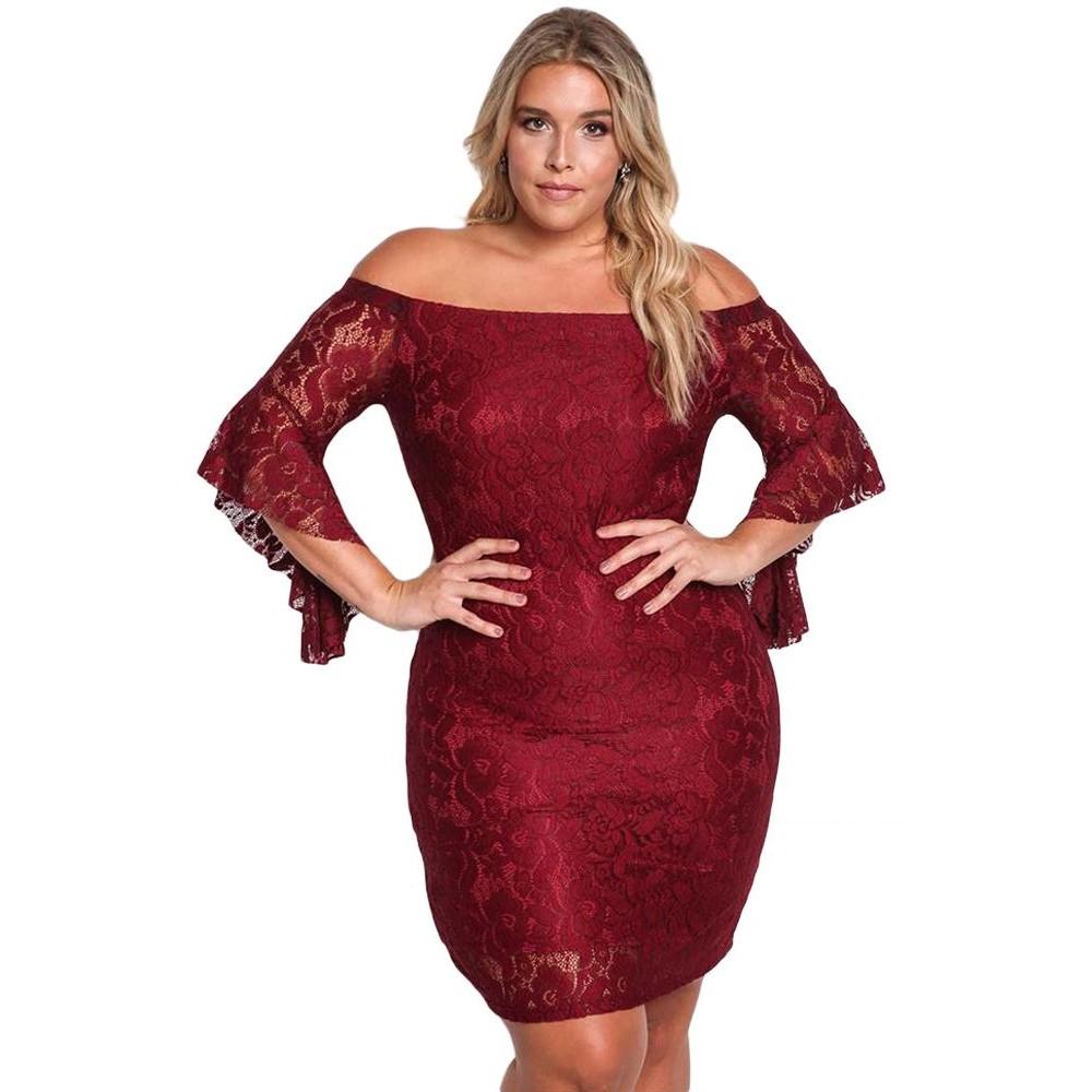 8a5b3333478 Vestido tallas grandes encaje elegante de fiesta prestigio fashion jpg  800x800 Tallas grande vestidos de fiesta