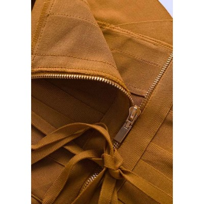 Vestido Bandage tirantes cinturon